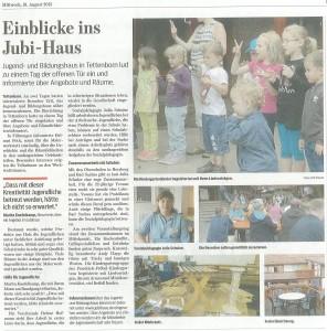 Zeitungsartikel HK 18.8.15