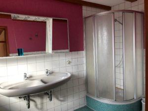 Badezimmer 2-Bett-Zimmer Altes Bauernhaus