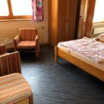 2-Bett-Zimmer in der Remise